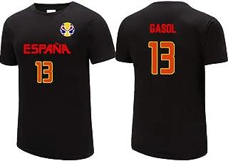 YDYL-LI 2019 España Fiba Baloncesto Jersey Copa del Mundo ...