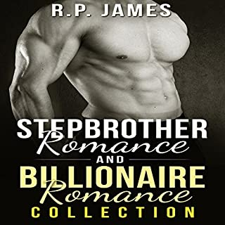 Stepbrother Romance and Billionaire Romance Collection audiobook cover art