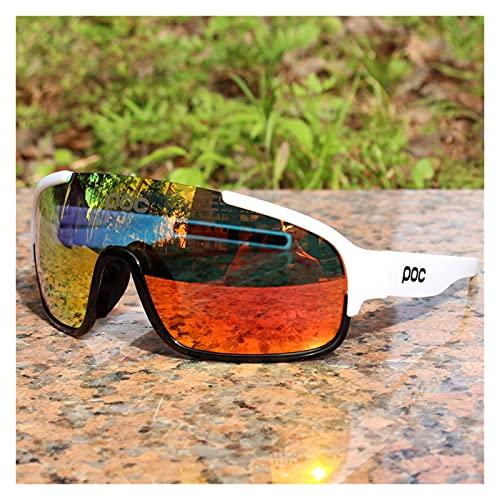 YINHAO Crave POC do polarizado Airsoftsports Blade Ciclismo Gafas de Sol Hombres Sport Road Mountain Bike Glasses Hombres Mujeres Eyewear (Color : 5)
