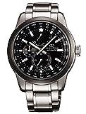 ORIENT STAR'World Time' orologio automatico SAR Zaffiro riserva di carica nero JC00001B WZ0011JC