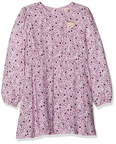Steiff Mädchen Kleid , Violett (LAVENDER MIST 7020) , 104 (Herstellergröße:104)