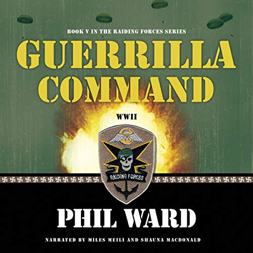 Guerilla Command audiobook cover art