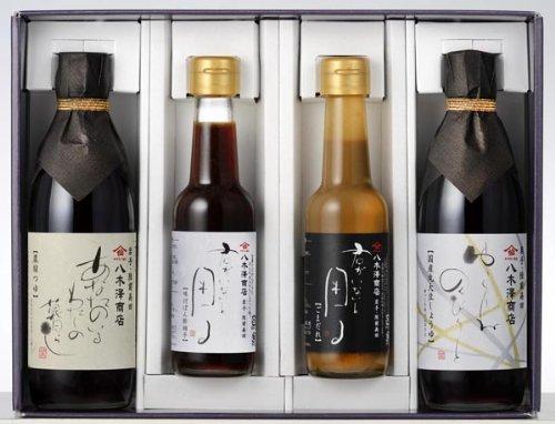 八木澤商店 ギフトセット 末摘花 (醤油・つゆ・ポン酢・タレ)