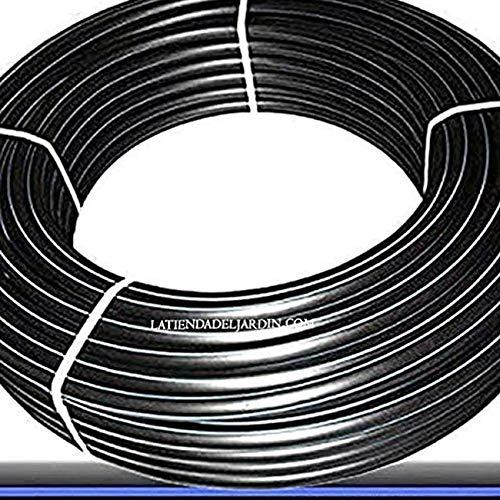 Suinga. 50 metros TUBERIA 25MM 16 BAR ALIMENTARIA alta densidad. Color negro. Tuberia con Certificado AENOR apta uso agua potable.