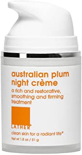 LATHER Australian Plum Night Crème, 1.8 Ounce