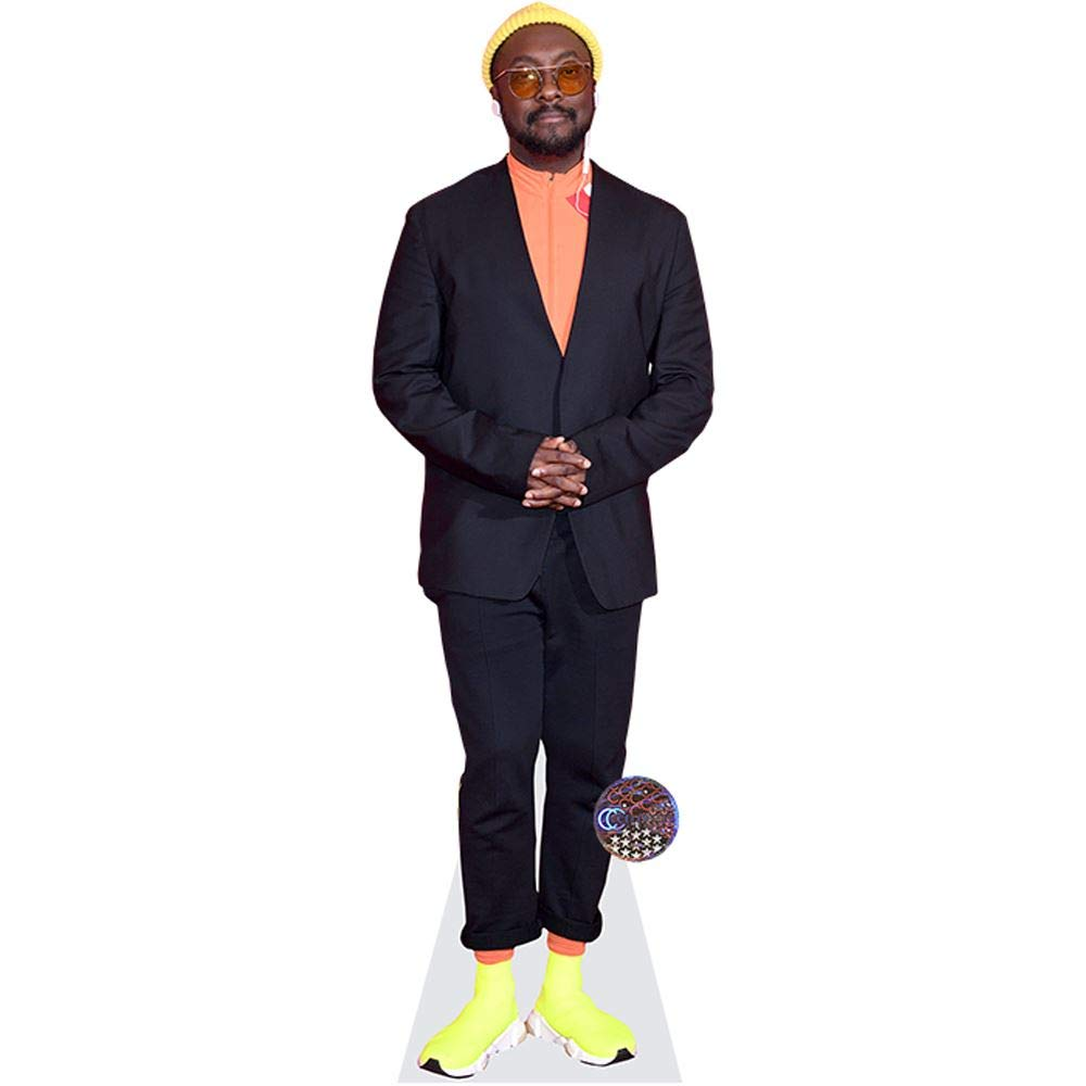 Amazon Com Will I Am Yellow Shoes Life Size Cutout Home Kitchen