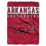 The Northwest Company Arkansas Razorbacks 'Basic' Raschel Throw Blanket, 60' x 80' , Red