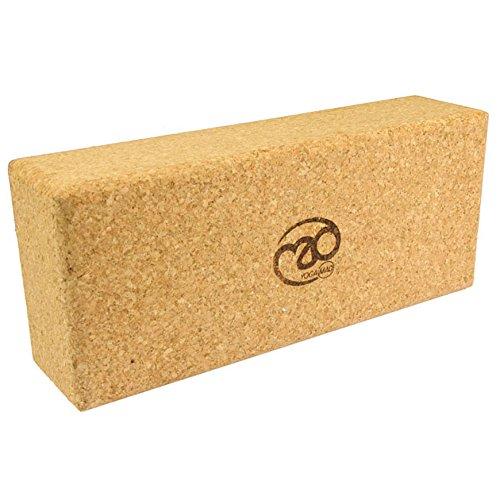 Yoga-mad Cork Yoga Brick Extra High Ladrillo, Corcho