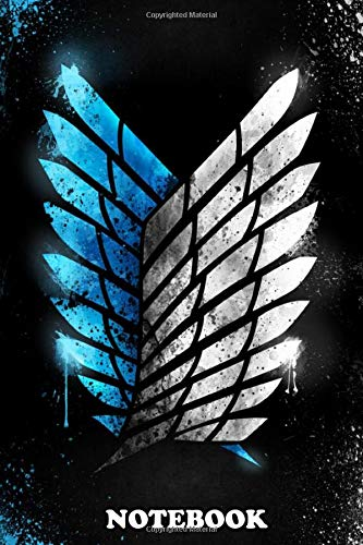 """Notebook: Wings Of Freedom 2d Version , Journal for Writing, College Ruled Size 6"""" x 9"""", 110 Pages"""