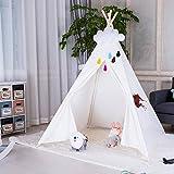 Triclicks Tipi Zelt Für Kinder, Tipi Spielzelt für Kinder, Indianerzelt Kinderzelt Wigwam...