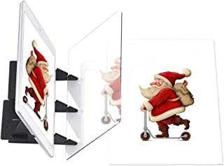Ellecutteyi Planche à Dessin Optique Projecteur Peinture Tableau de Copie kit Croquis Assistant de Réflexion d'image Proje...
