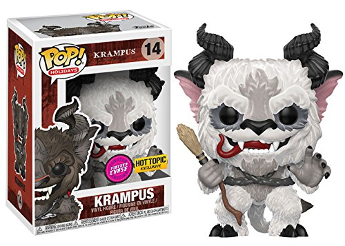 POP! Funko Holidays Krampus #14 Limited Flocked White Chase Variant