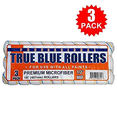 True Blue Professional Paint Roller Covers, Best for All Types of Paint