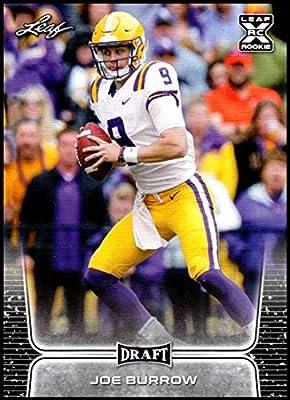 2020 Leaf Draft #1 Joe Burrow RC - LSU Tigers (RC - Rookie Card) NM-MT NFL Football Card
