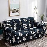 JRKJ Nórdico Cubierta De Sofá Cubre,Elegant Modern Sofa Cover Spandex Elastic Polyester Floral 1/2/3/4 Seater Couch Slipcover Chair Living Room Furniture Protector-M_1Seater 90-140Cm