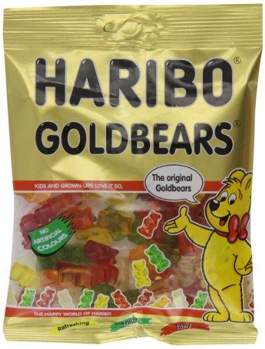 Haribo Gold Bears Bag 160 g (Pack of 12)