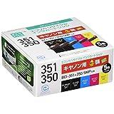 ecorica 墨盒 Canon 5色套装351+ 350/ MP 燃油喷射系统 - C351