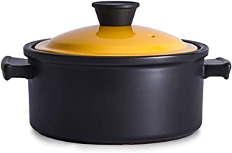 Stew Pot Cookware Terracotta Induction Cooker with an Open Flame Non-Stick Cooker Healthy and Energy Saving