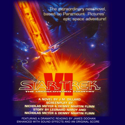 Star Trek VI: The Undiscovered Country (Adapted) audiobook cover art