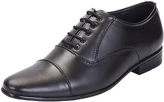 San Frissco Men's Black Formal Shoes-8 UK/India (42 EU) (EC 3550_BLK-8)