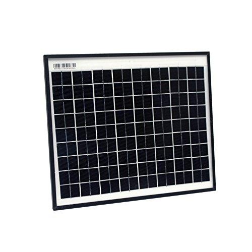 ALEKO SPU10W24V Monocrystalline Modules Solar Panel 10W 24V