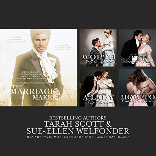 The Marriage Maker audiobook cover art