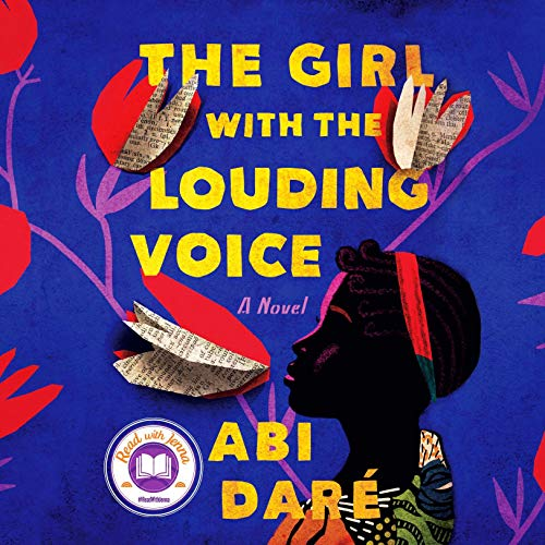 『The Girl with the Louding Voice』のカバーアート