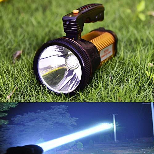 Odear Super helle Taschenlampe Suchlicht Handheld Tragbare LED Spot USB wiederaufladbar Taschenlampe für Bergbau, Camping, Wandern, Angeln, 4.20V
