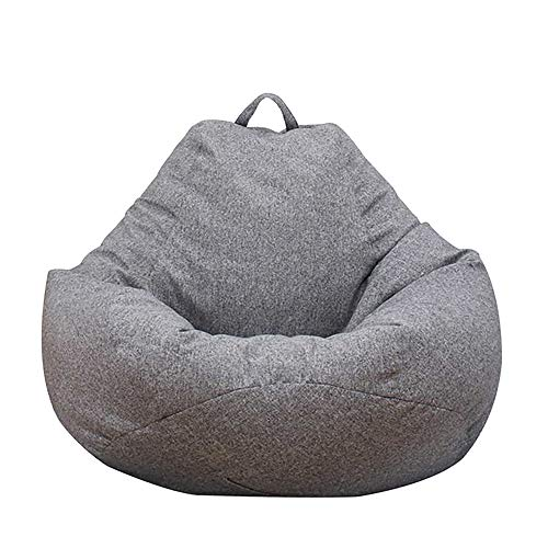 Ghopy Sitzsack-Bezug für Erwachsene und Kinder, Sitzsack für Wohnzimmer, Riesensitzsack ohne Füllung aus Stoff, für großes Sofa, großer Sessel, Wohnzimmer, für drinnen und draußen