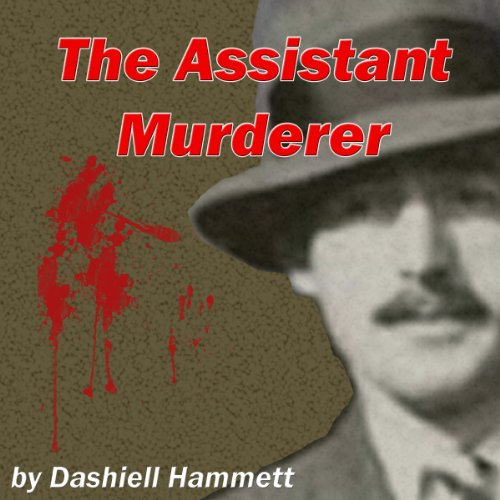 The Assistant Murderer audiobook cover art