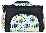 Wickeltasche PIA Baby-Joy XXL XXXL Übergroß Windeltasche Pflegetasche Babytasche Tragetasche TP-41 Schwarz Creme Eule 7