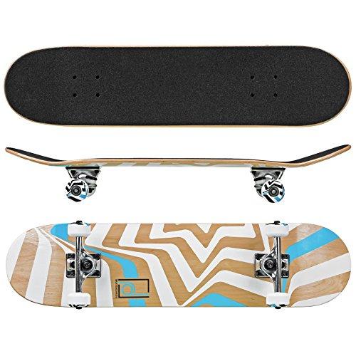 "Roller Derby Rd Street Series Skateboard Star, Multi, 31"" x 8"""