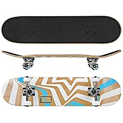 "top rated Roller Derby Rd Street Series Skateboard Star, Multi, 31 ""x 8"" 2021"