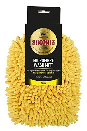 Simoniz Gant de Toilette en Microfibre