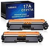 Wewant Toner 17A CF217A Cartucce Toner Compatibile HP 17A CF217A per HP LaserJet Pro M102a M102w HP LaserJet Pro MFP M130a M130nw M130fn M130fw, Confezione da 2 Nero