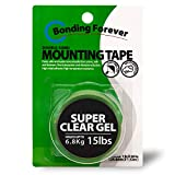 Bonding Forever Super Clear Gel Double Sided Tape | Foam Tape | Double Sided Adhesive Tape | Mounting Tape | 0.045' X 1' X 60' X 1EA