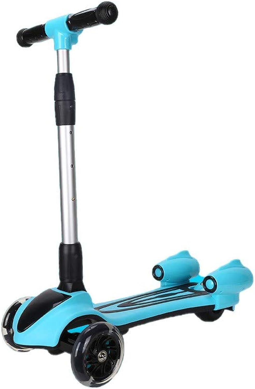 para mayoristas TKTTBD Patinete de 3 Ruedas para para para Niños, Mini Scooter con PU LED Luces Altura de Manillar Ajustablepara Niños de 3-8 años  genuina alta calidad
