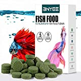 Tablet Fish Food - Attaches to Side of Tank Fish Food for Bettas Gouramis Guppies Neon Cardinal...