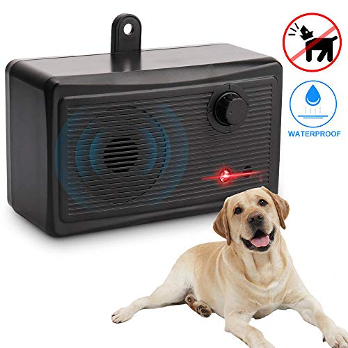 Marialove Bark Control Devices, Upgrade Outdoor Mini Anti Barking Device, Ultrasonic Sonic Dog Repellent Anti Bark Deterrents Devices