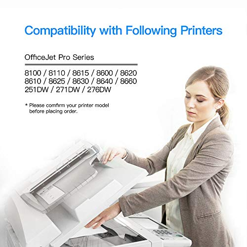LxTek Compatible Ink Cartridge Replacement for HP 950XL 951XL 950 XL 951 XL to use with OfficeJet PRO 8600 8610 8620 8630 8100 8625 8615 276dw, 8 Pack (2 Black|2 Cyan|2 Magenta|2 Yellow) Photo #4