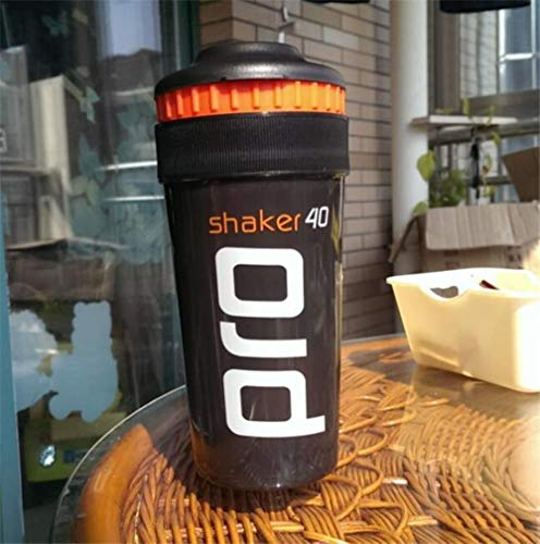 Shaker Pro 40 Whey Protein Sportvoeding blender mixer fles fitness gym Shaker For Protein Poeder mijn waterfles 700 ml nieuw, 700ML