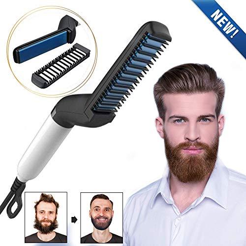 Modelador de Barba Pente Alisador Chapinha para Barba