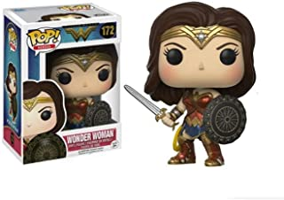 Wonder Woman Q version Hand model doll anime ornaments Funko POP