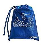 LIL'FOX 8' x 10' Drawstring Girls GRIP BAG for Gymnastics 26cm x 20cm - Storage Bag Gym Pouch Lightweight Drawstring...