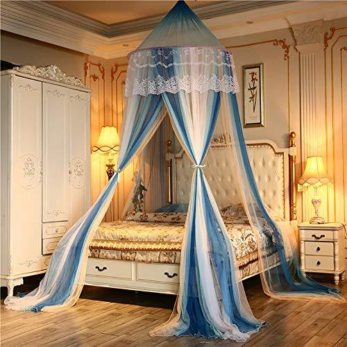 Romantische ronde insecten voorkomen Netting Mesh Home Bed luifel gordijn opknoping koepel muggennet Tent wieg