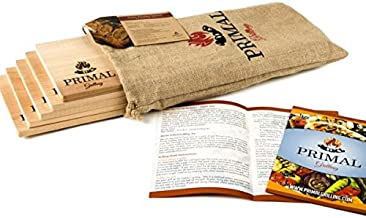 Premium Cedar Planks for Grilling | Thicker Design for Moister & More Flavorful Salmon, Steaks, Seafood & More | More Uses Per Cedar Plank | Free Recipe Card | Just Soak, Grill & Serve | 5 Pack