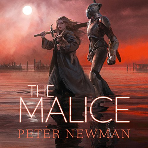 The Malice audiobook cover art