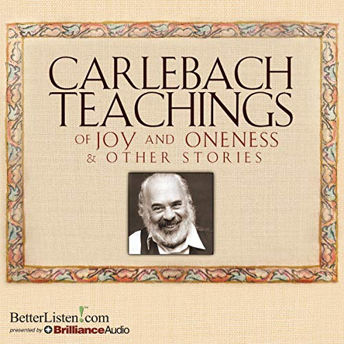 Carlebach Teachings of Joy and Oneness & Other Stories  By  cover art