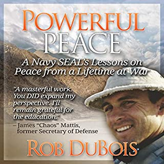 Powerful Peace audiobook cover art
