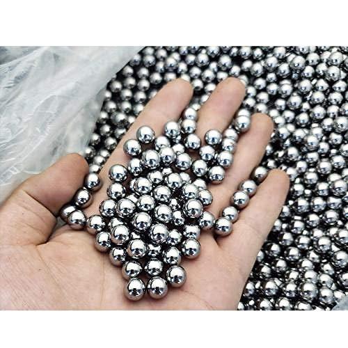 Bolas de acero de alta precisión, bolas de acero para cojinetes, 1-10 mm, bolas estándar de acero sólido, bolas, bolas de acero al carbono-Bola de acero al carbono 2 mm